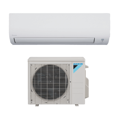 Daikin 19 Series wall mounted single zone heat pump