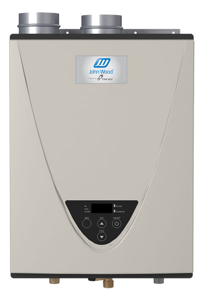 John Woods Condensing Tankless WAter Heater