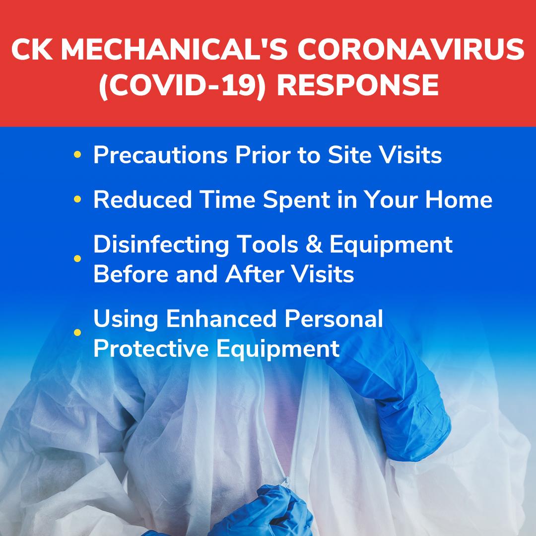 CK Mechanical's Coronavirus (COVID-19) Response