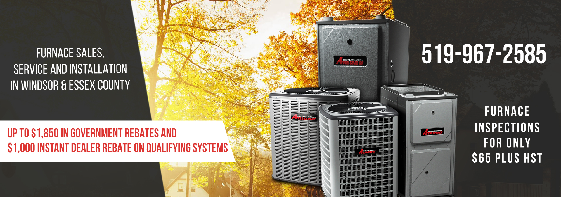 Furnace Inspections in Windsor-Essex for Just $65.00